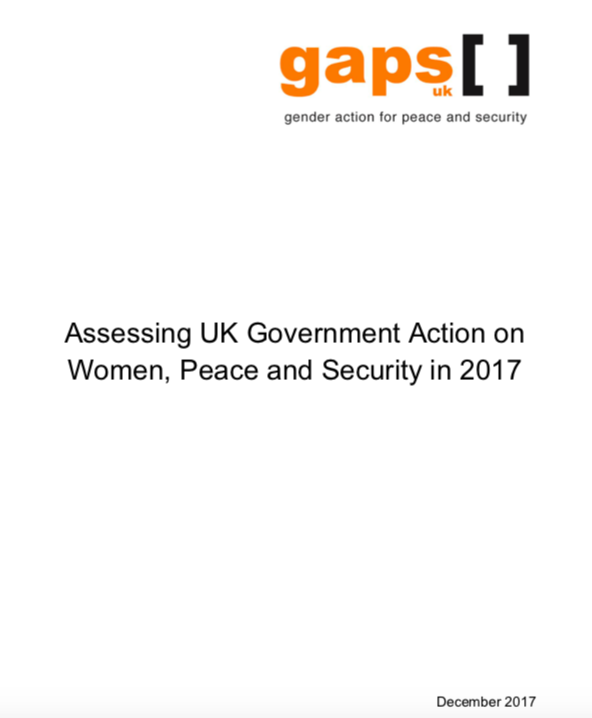 Gaps UK submission