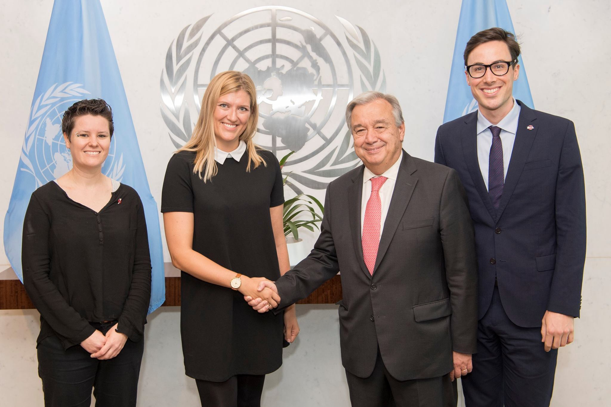 ICAN campaigners visit the UN Secretary-General